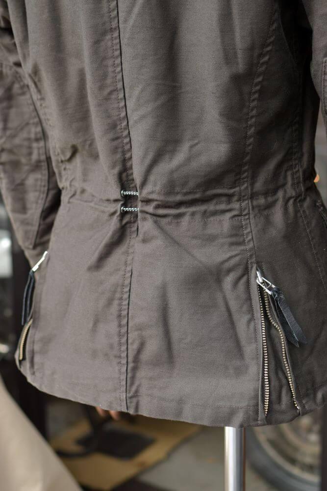 MFB-1757 キルトパッチスタンドカラージャケット