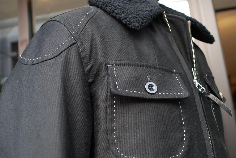 MFJ-1651 ウィンターハンドステッチジャケット13