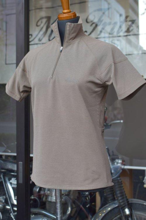 MFT-1364 COOLPLUS ジップアップTシャツ(半袖)