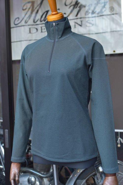 COOLPLUS ジップアップTシャツ(長袖)
